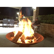 The Cauldron - 1200mm + Free Fire Pit Lid